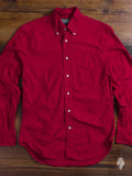 Overdyed Oxford in Red