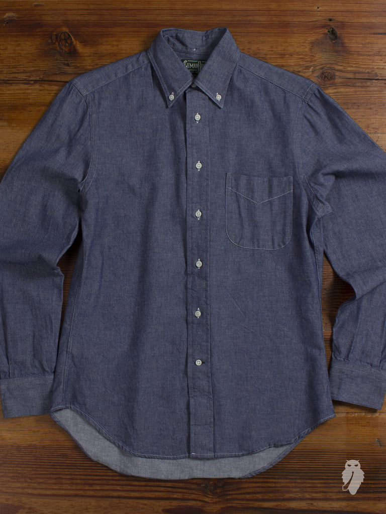 USA Chambray Oxford in Indigo