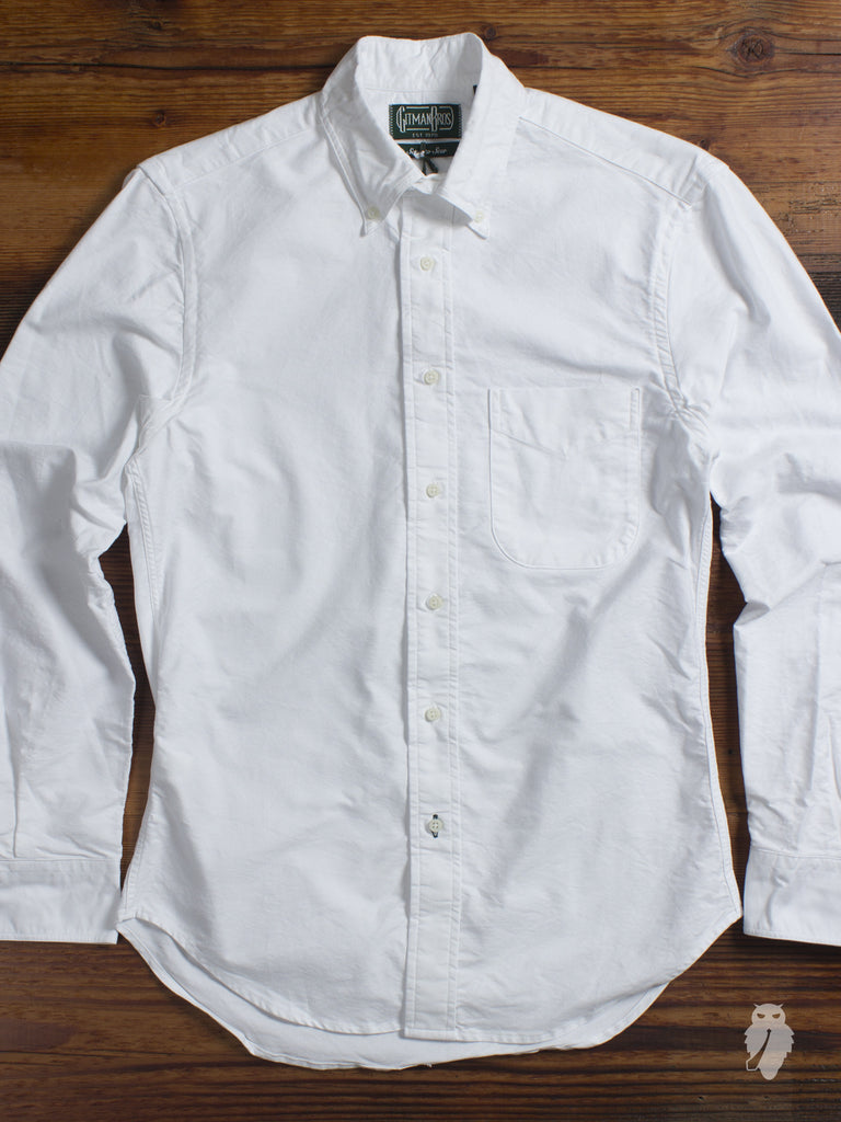 USA Supima Oxford in White