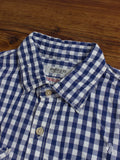 Selvedge Big Check Button Down in Blue