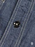Chambray Button Up Shirt in Indigo