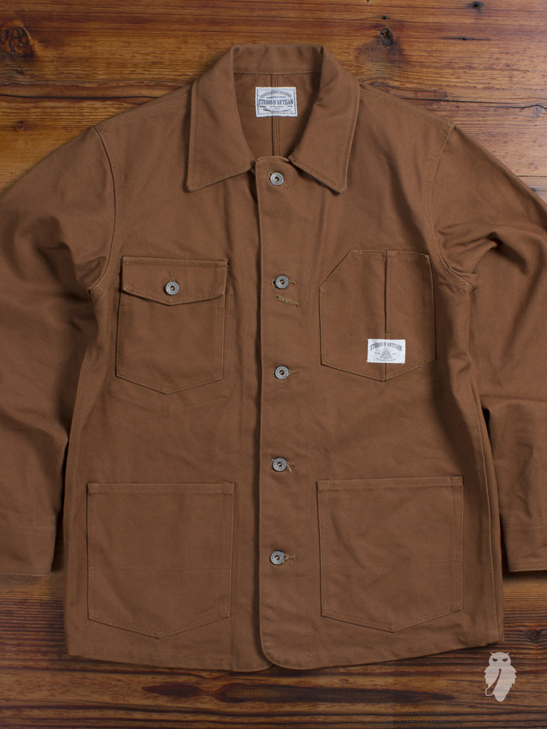19oz Duck Canvas Coverall Jacket