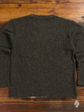 Pocket Crewneck Sweater in Moss