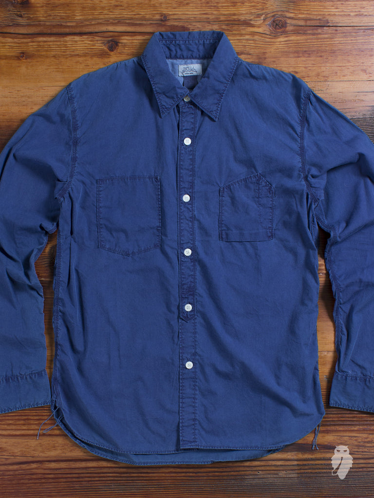 Combed Broadcloth Long Sleeve Work Shirt