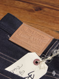 "X019 ""Tinted Weft"" 13.75oz Selvedge Denim - Spikes Fit"