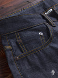 "x021 ""Kuroki"" 14.25oz Selvedge Denim - Spikes Fit"