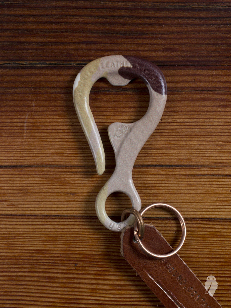 """Bottle Opener"" Key Hook in Desert Camo Powdercoat"