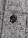 Loopwheel Shawl Cardigan in Grey