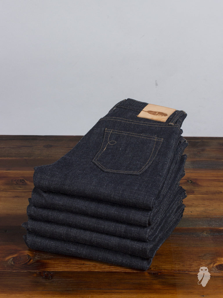 """Expedition SK"" 14oz Unsanforized Selvedge Denim"