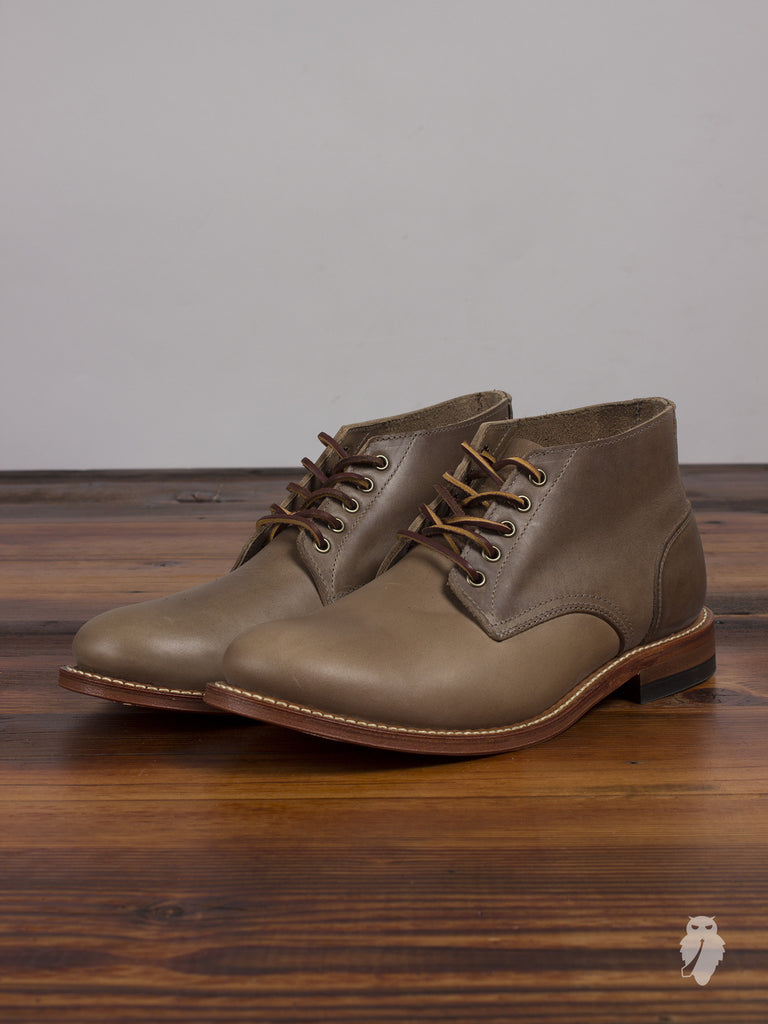 """Trench Chukka"" in Natural"