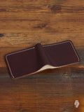 Bifold Wallet in Illini Latigo