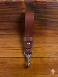 Key Lanyard in Mahogany