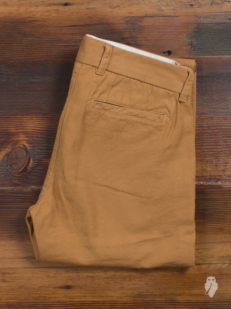 "The West is Dead ""Slim Tapered"" 10oz Cotton Duck Canvas Pant in Burnt Orange"