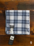 """Madras Check"" Scarf in Blue"