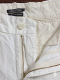 Japanese Chambray Shorts in White