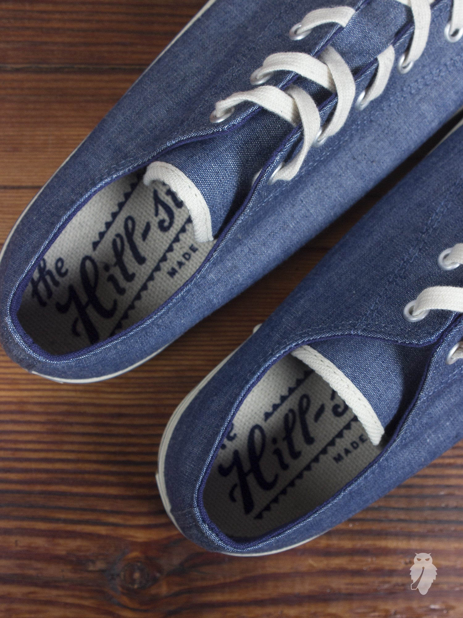 The Hill-Side Indigo Chambray Low Top Sneaker