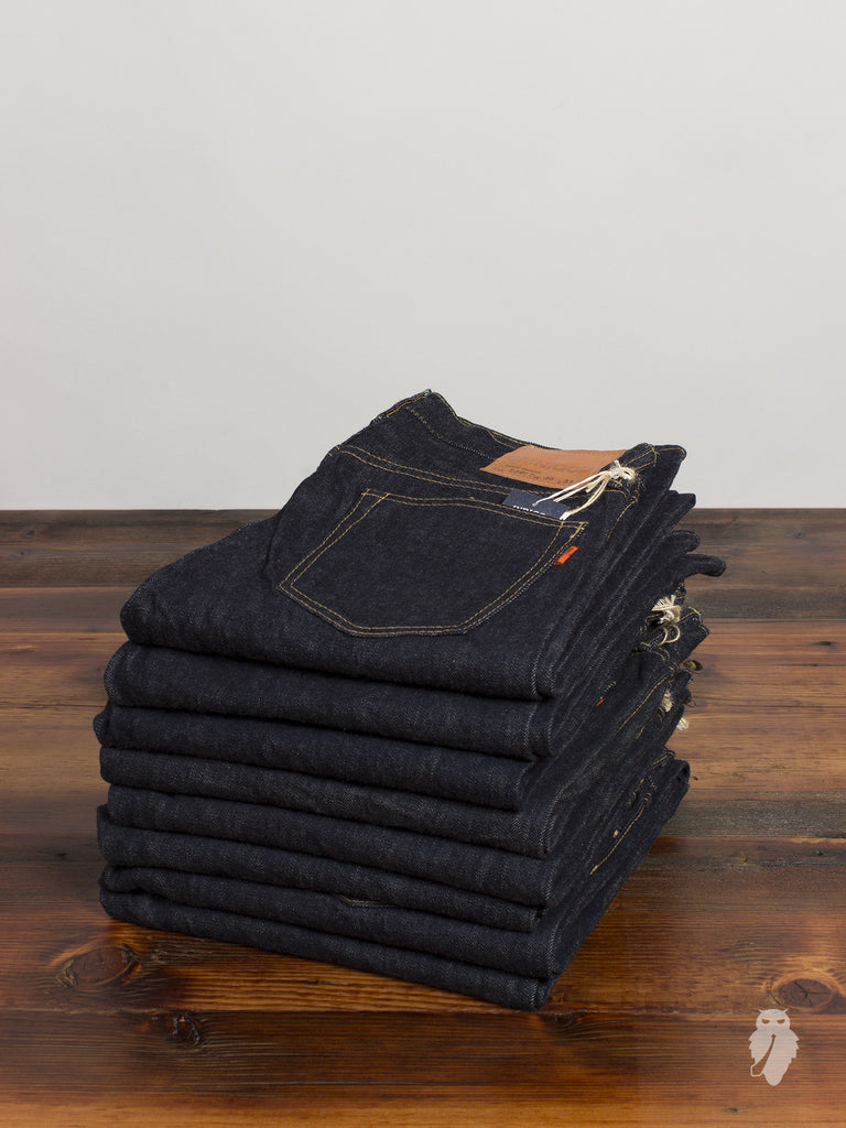 50072 14oz One Wash Selvedge Denim - Tight Straight