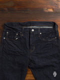 40-153B 14oz One Wash Selvedge Denim - Slim Straight Fit