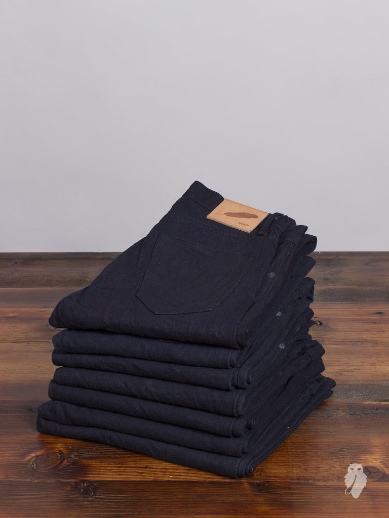 """Over-Dye SK"" 14.5oz Selvedge Denim"