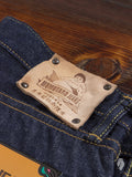 "G007-MB ""Copper Label"" Old Blue 14.7oz Selvedge Denim - Tight Straight Fit"