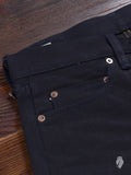"0202 ""Deep Indigo"" 15oz Selvedge Denim - Slim Straight Fit"