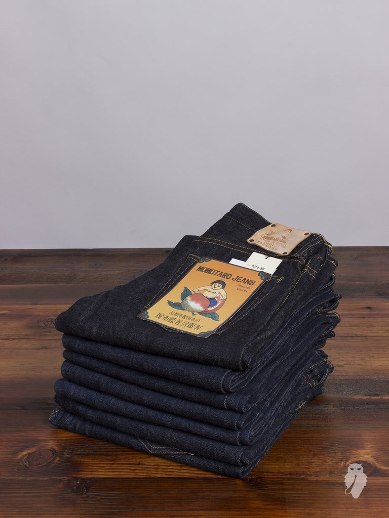 "G014-MB ""Copper Label"" 14.7oz Selvedge Denim - Slim Tapered Fit"