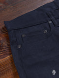"SL-120xk ""Kibata Shadow Selvedge"" 14.5oz Unsanforized Selvedge Denim - Slim Straight Fit"