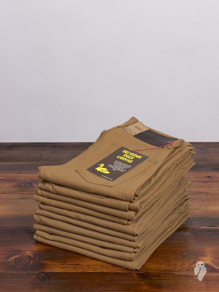 10oz Selvedge Duck Canvas - Skinny Guy Fit
