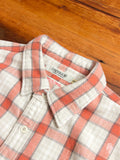 Flannel Work Shirt in Orange