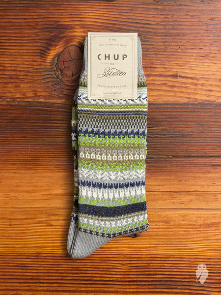 """3sixteen x CHUP"" Socks in Grey"