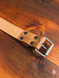 """Wenatchee Belt"" in Rough-Out Natural Horse Hide"