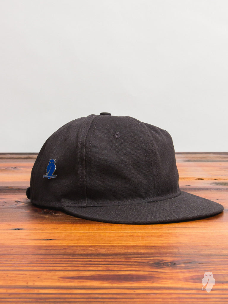 "Ebbets Field x Blue Owl Workshop ""Made In WA"" 6-Panel Hat in Grey"