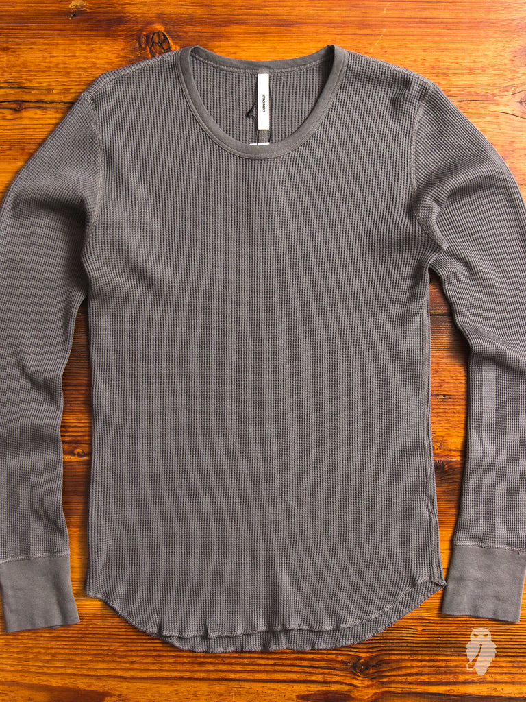 Suvin Thermal Long Sleeve in Khaki Grey