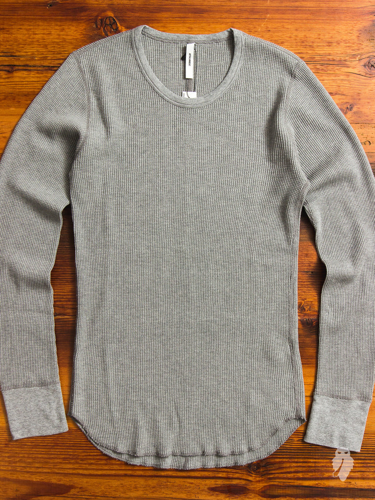 Suvin Thermal Long Sleeve in Light Grey