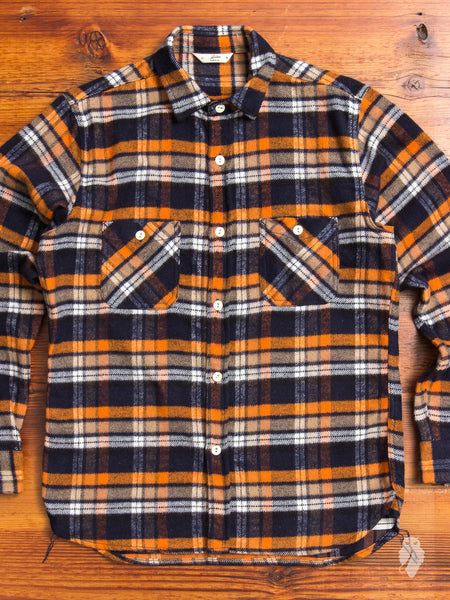Shaggy Workshirt in Orange