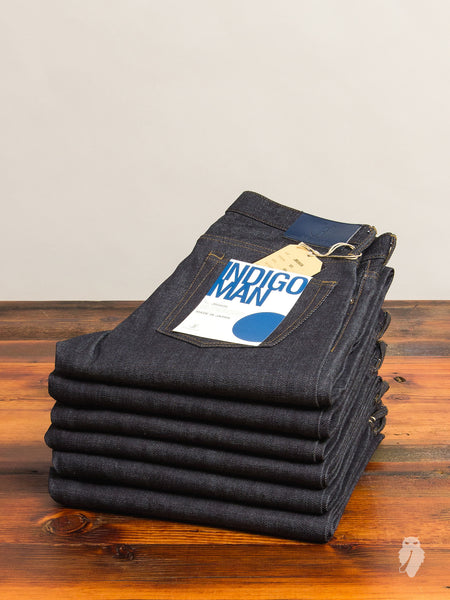 "JB0606 ""Zimbabwe + Memphis"" 14oz Selvedge Denim - High Tapered Fit"