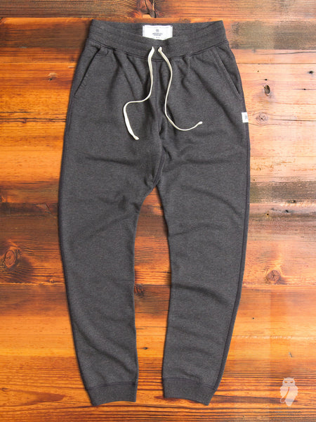 Slim Sweatpant in Heather Charcoal
