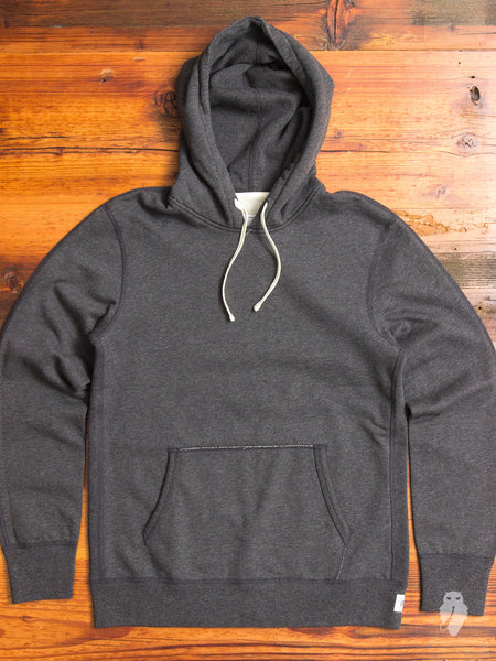 Pullover Hoodie in Heather Charcoal