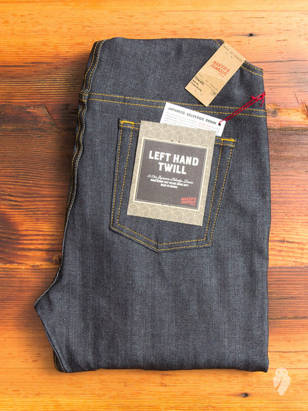 """Left Hand Twill"" 13.75oz Selvedge Denim Overalls"