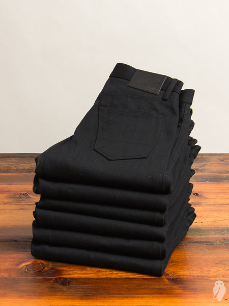 """Stealth Stanton"" 17oz Selvedge in Black"