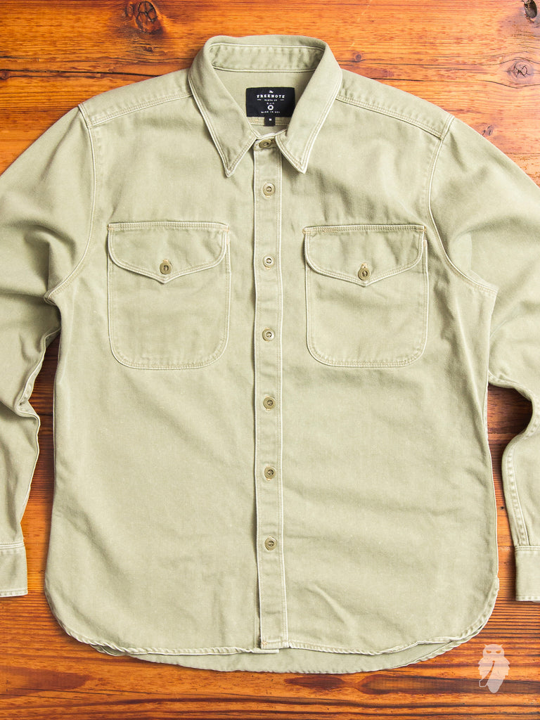 Utility Work Shirt in Army