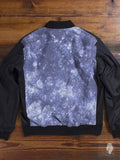 Reversible Bomber Jacket in Black