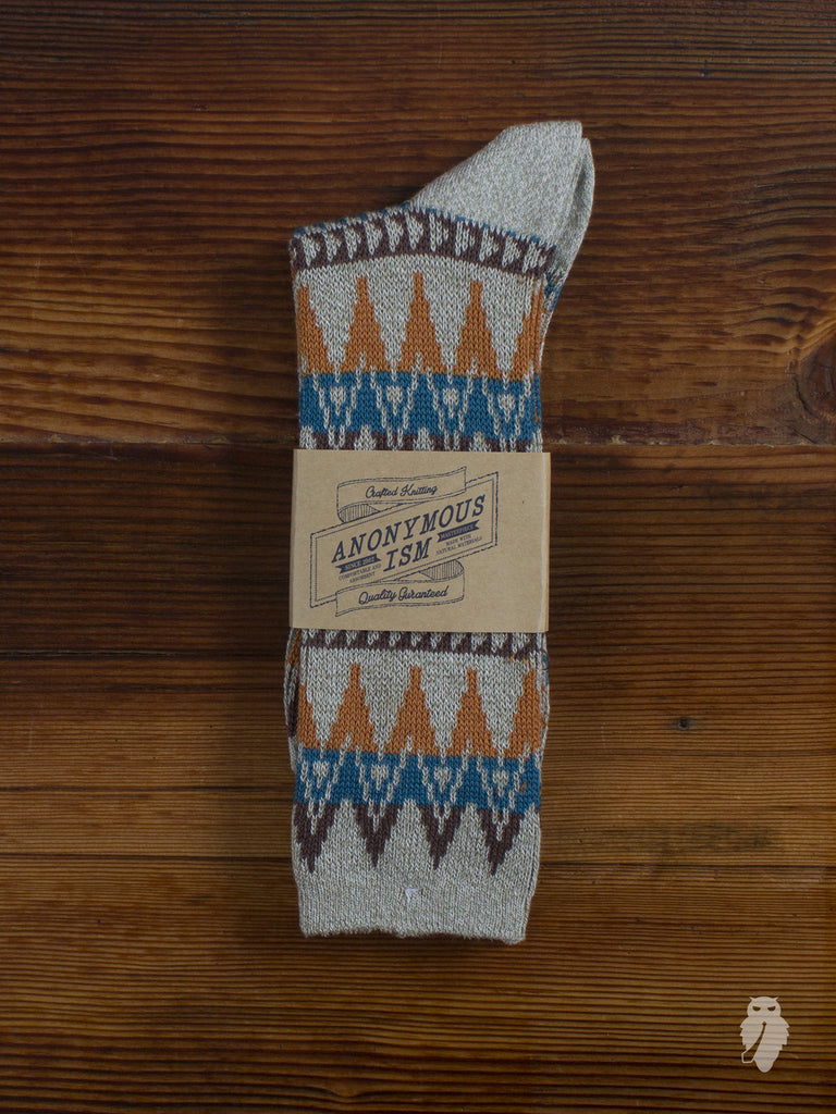 Beacon Crew Sock in Grey
