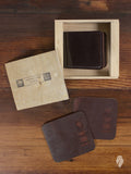 Shell Cordovan Bifold Wallet in Color 8 Latigo