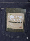 """Organic Vegan Denim"" 12oz Selvedge Denim - Super Skinny Guy Fit"