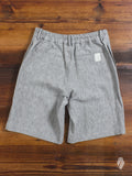 Nep Linen Shorts in Grey