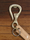 """Bottle Opener"" Key Hook in Solid Brass"
