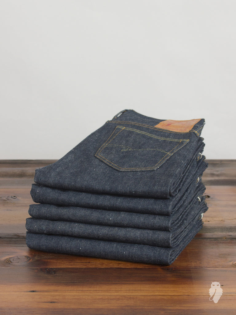 """WWII"" 15.5oz Unsanforized Selvedge Denim - Super Tight Straight Fit"