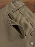 """Officer Trouser"" in Bronze Selvedge"