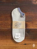 Organic Cotton Ankle Length Sock in Blue